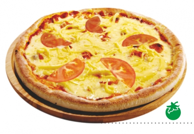 Пицца «Маргарита» с томатами