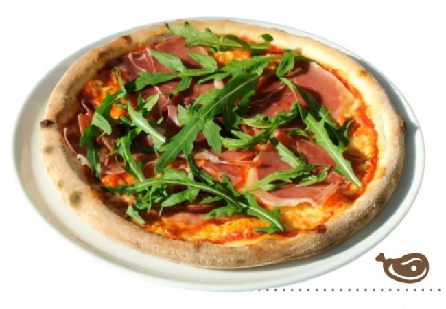 Пицца «Пармская ветчина и руккола»