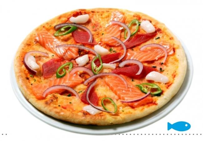 Пицца «Королева моря»