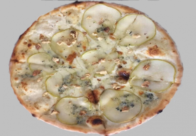 Пицца «Груша и сыр горгонзола»